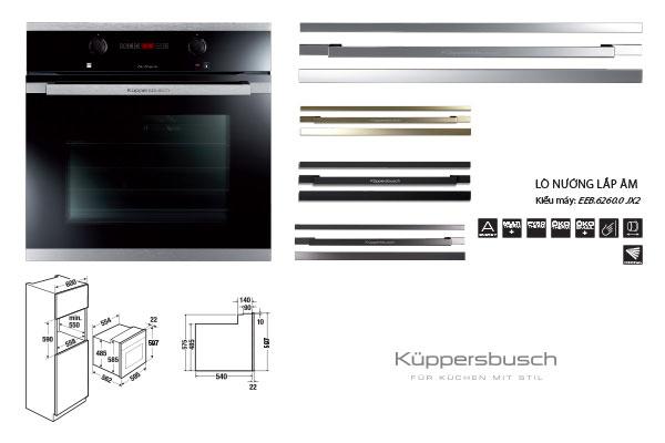 lò nướng cao cấp kuppersbusch sản phẩm của Đức